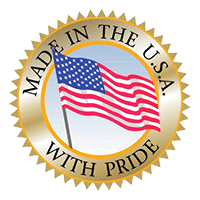 Made in the USA with Pride logo